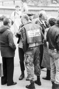 Punk am Alexanderplatz März 1990